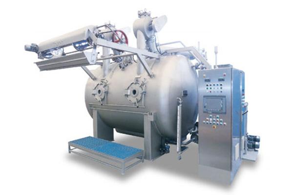 GXR高温染色机, 是 江苏博森机械制造有限公司一款创新的超小浴比的溢流染色机,其特点是节能、高效、环保、运行成本低。广泛适用于针 织、梭织面料,专利创新设计,可变截的缓流可调喷嘴,减少喷压。除毛自洁过滤器,解决了网孔过滤的堵塞,最精简的工艺过程消耗,快速多循环与织物上下交 替,缩短了染色时间,使1:5.6的浴比,顺畅染色棉针织和棉梭织物。